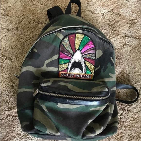 b92ad02553 Saint Laurent Bags | Sweet Dreams Camouflage Backpack | Poshmark